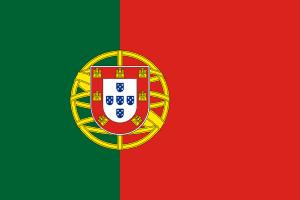 Landesflagge Portugals