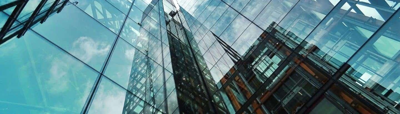 Bürogebäude oder Gericht